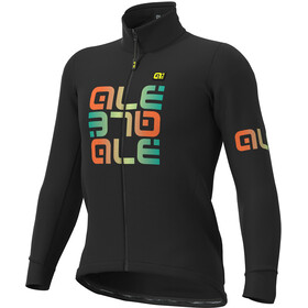 Alé Cycling Solid Mirror DWR Giacca Uomo, black